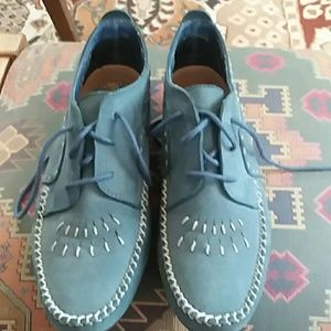 Hushpuppies leather booties 8.5w